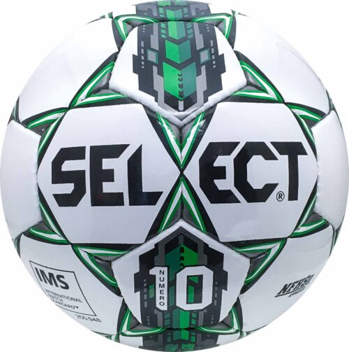 Select Numero 10 NFHS Soccer Ball – White/Green
