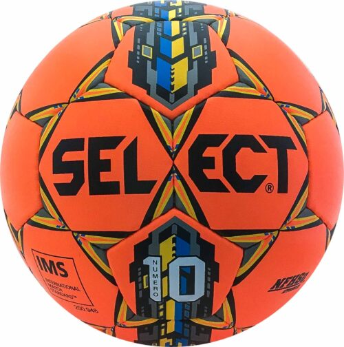 Select Numero 10 NFHS Soccer Ball – Orange/Blue