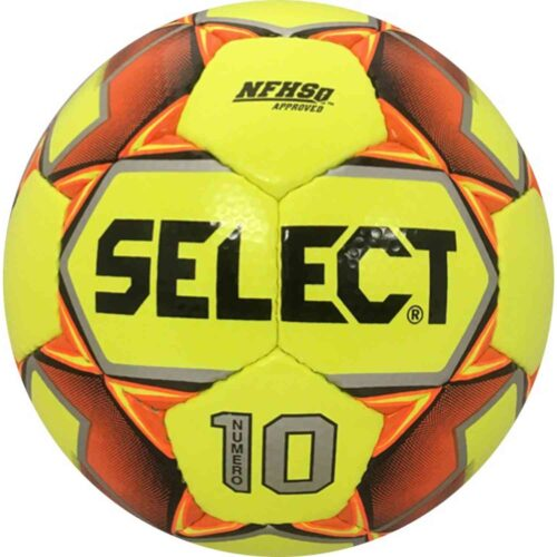 Select Numero 10 NFHS Soccer Ball – Yellow/Orange
