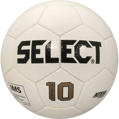 Select Numero 10 NFHS Soccer Ball – All White