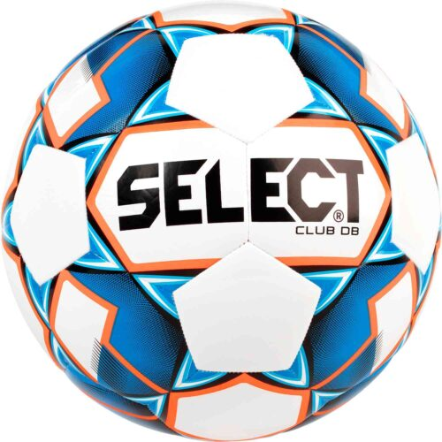 Select Club DB Soccer Ball – White/Blue