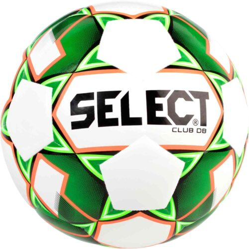 Select Club DB Soccer Ball – White/Green