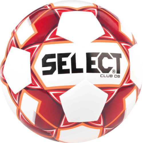 Select Club DB Soccer Ball – White/Red