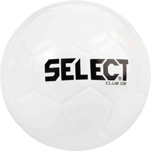 Select Club DB Soccer Ball – All White