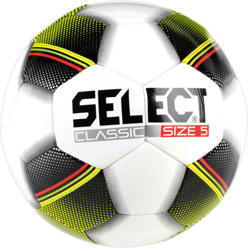 Select Classic Soccer Ball – White