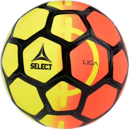Select Liga Practice Soccer Ball – Yellow/Orange