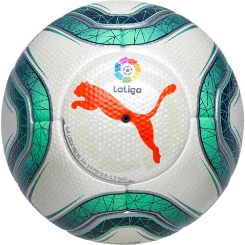 Puma La Liga 1 Official Match Soccer Ball – White & Green Glimmer