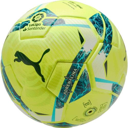 PUMA La Liga 1 Adrenalina Official Match Soccer Ball – Lemon Tonic
