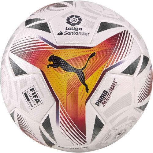 PUMA La Liga 1 Accelerate Official Match Soccer Ball – White & Multicolour