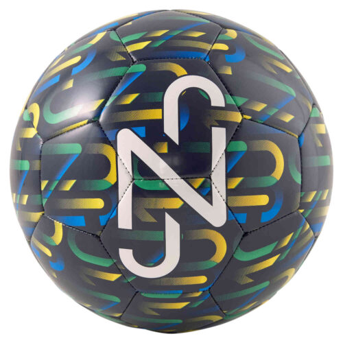 Puma Neymar Jr Fan Soccer Ball – Peacoat & Dandelion with Jelly Bean