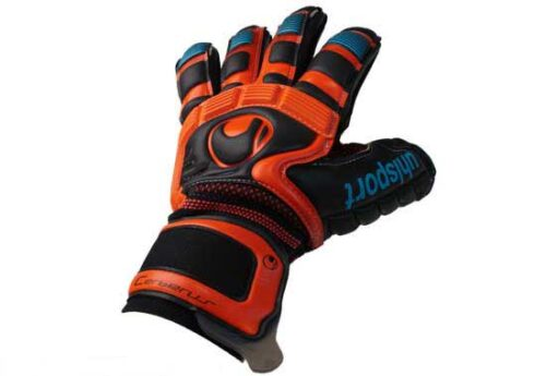 Uhlsport Cerberus Absolutgrip Handbett  Black/Cyan