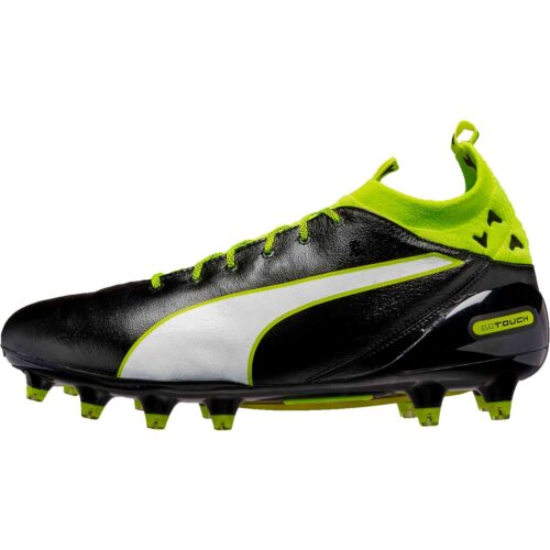 PUMA evoTOUCH Pro FG – Black/Safety Yellow