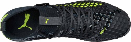 PUMA Future 18.1 Netfit FG – Black/Fizzy Yellow