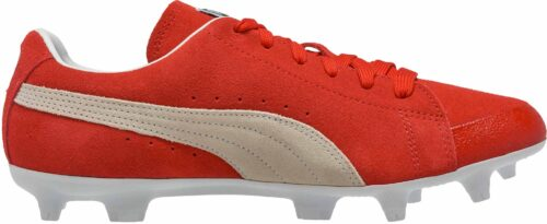 PUMA Future Suede FG – 50th Anniversary – Red/White