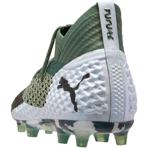 PUMA Future 2.1 Netfit FG – Laurel Wreath/White/black