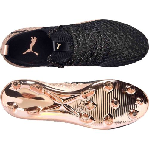 PUMA Future 2.1 Netfit FG – GLO – Rose Gold/Black