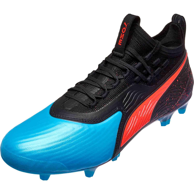 Puma ONE 19.1 FG - Power Up - SoccerPro d6fc0989297d