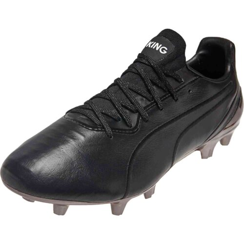 Puma King Platinum FG – Triple Black