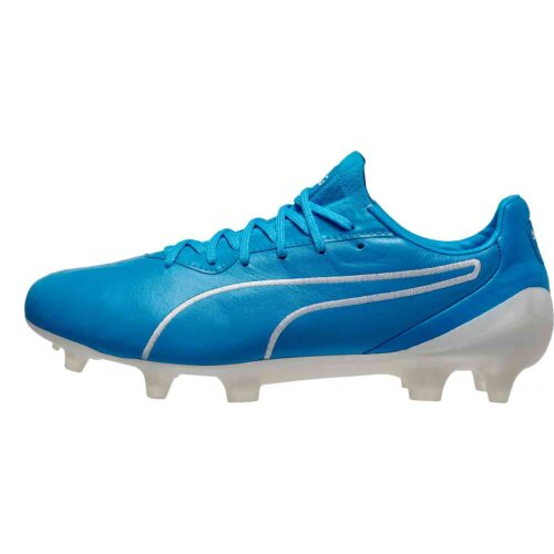 Puma King Platinum FG – Luminous Blue/Puma White