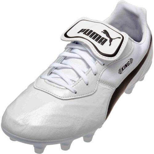 Puma King Top FG – Puma White & Puma Black