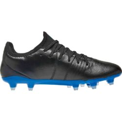 Puma King Pro FG - Black/Royal Blue - SoccerPro
