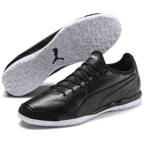 Puma King Pro IT – Black/White
