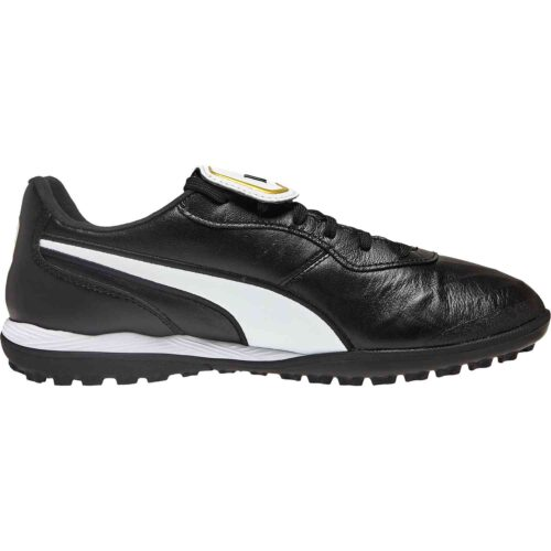 Puma King Top TT – Black/White