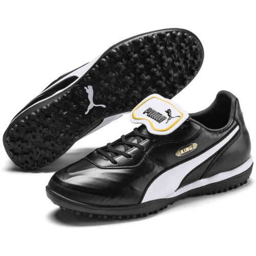Puma King Top TT – Puma Black & Puma White