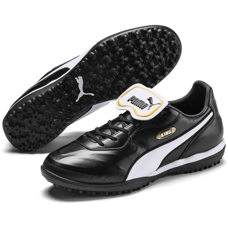Puma King Top TT – Puma Black & Puma White