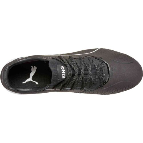 PUMA King Lazer Touch FG – Black/White