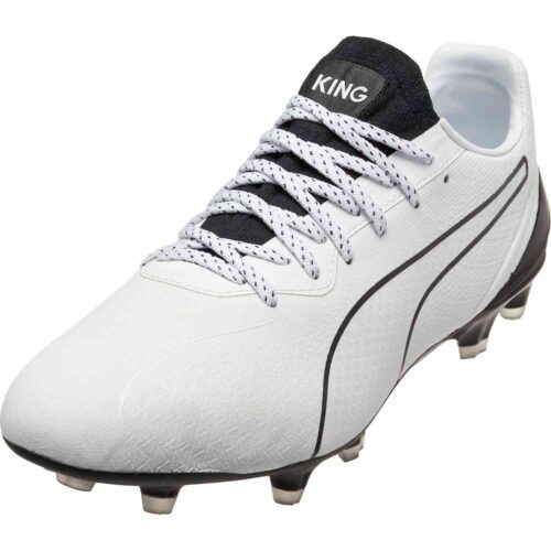 PUMA King Lazer Touch FG – White/Black