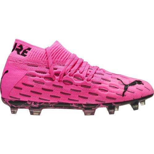 Kids Puma Future 6.1 FG – Luminous Pink & Black