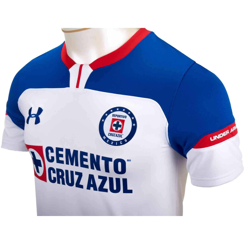 25b08fc9e9a Under Armour Cruz Azul Away Jersey 2018-19 - SoccerPro