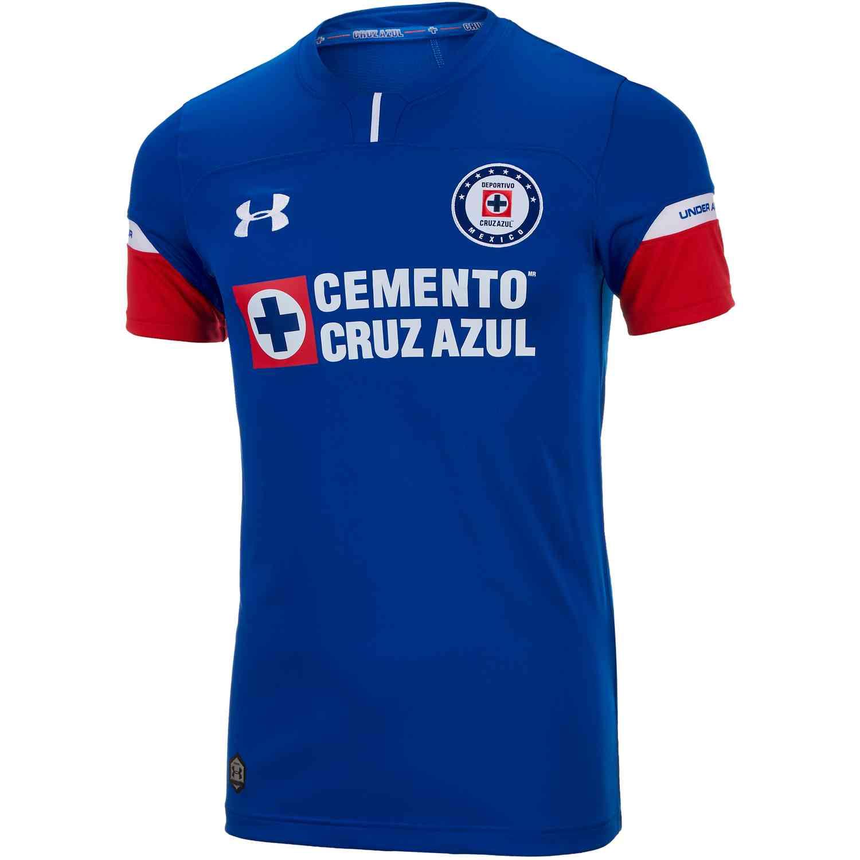 dc4ee9cf4b2 Under Armour Cruz Azul Home Jersey 2018-19 - SoccerPro