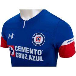 1322ca5453d Under Armour Cruz Azul Home Jersey 2018-19 - SoccerPro