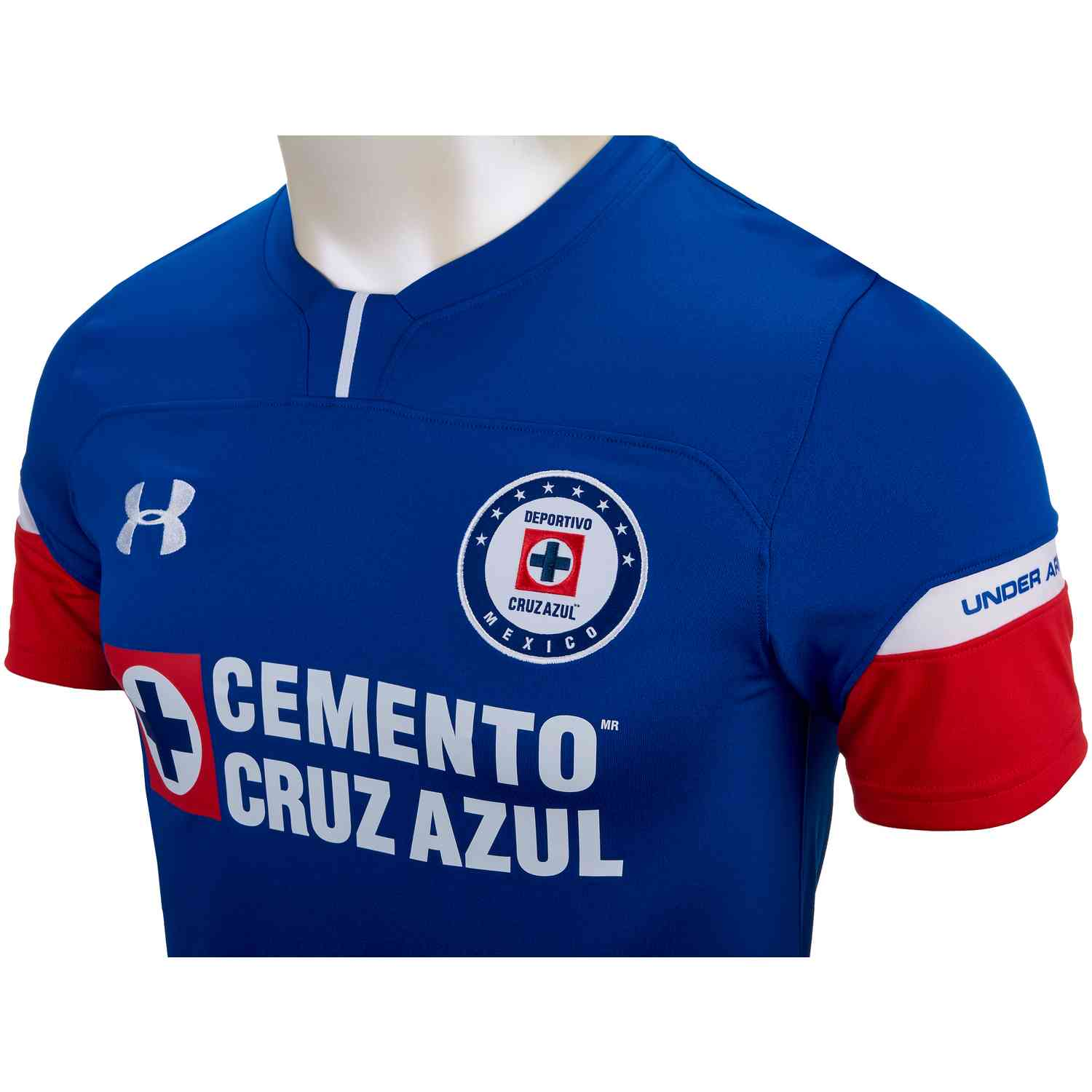ae9b87af8 Under Armour Cruz Azul Home Jersey 2018-19 - SoccerPro
