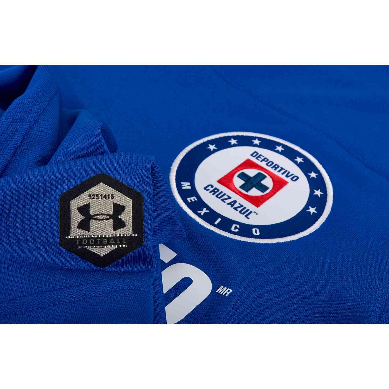 e6f6f62c826 Under Armour Cruz Azul Home Jersey 2018-19 - SoccerPro