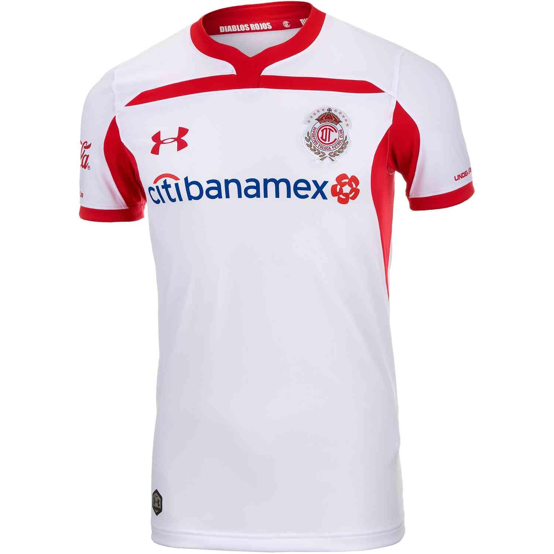 c9f789a87a1 Under Armour Toluca Away Jersey 2018-19 - SoccerPro