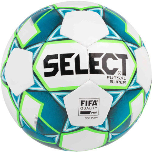 Select Super Futsal Ball – White