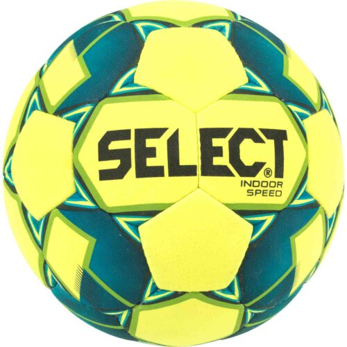 Select Felted Indoor Speed Soccer Ball – Yellow