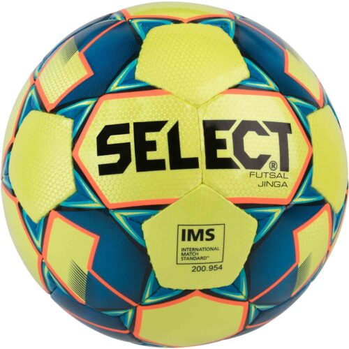 Select Jinga Futsal Ball – Yellow