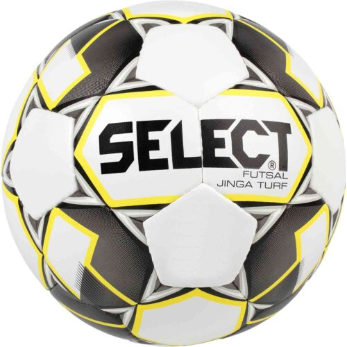 Select Jinga Turf Futsal Ball – White