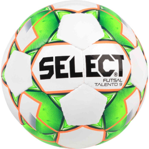 Kids Select U9 Talento Futsal Ball – White/Green