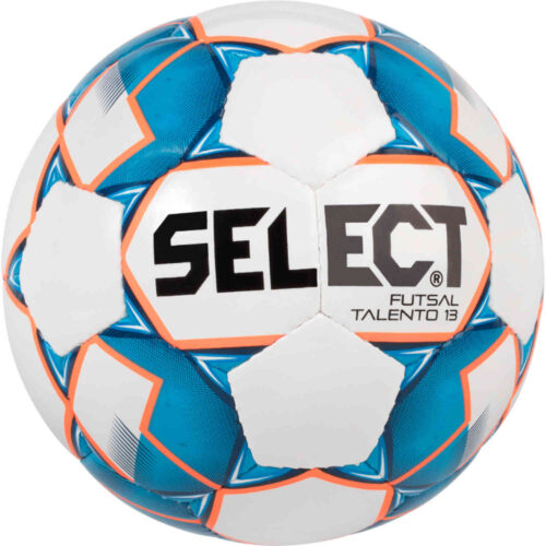 Kids Select U13 Talento Futsal Ball – White/Blue
