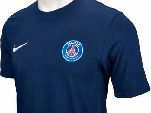 Nike PSG Neymar Home Tee – Midnight Navy/White