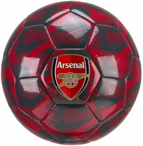 PUMA Arsenal Camo Soccer Ball – Chili Pepper/Grey Dawn