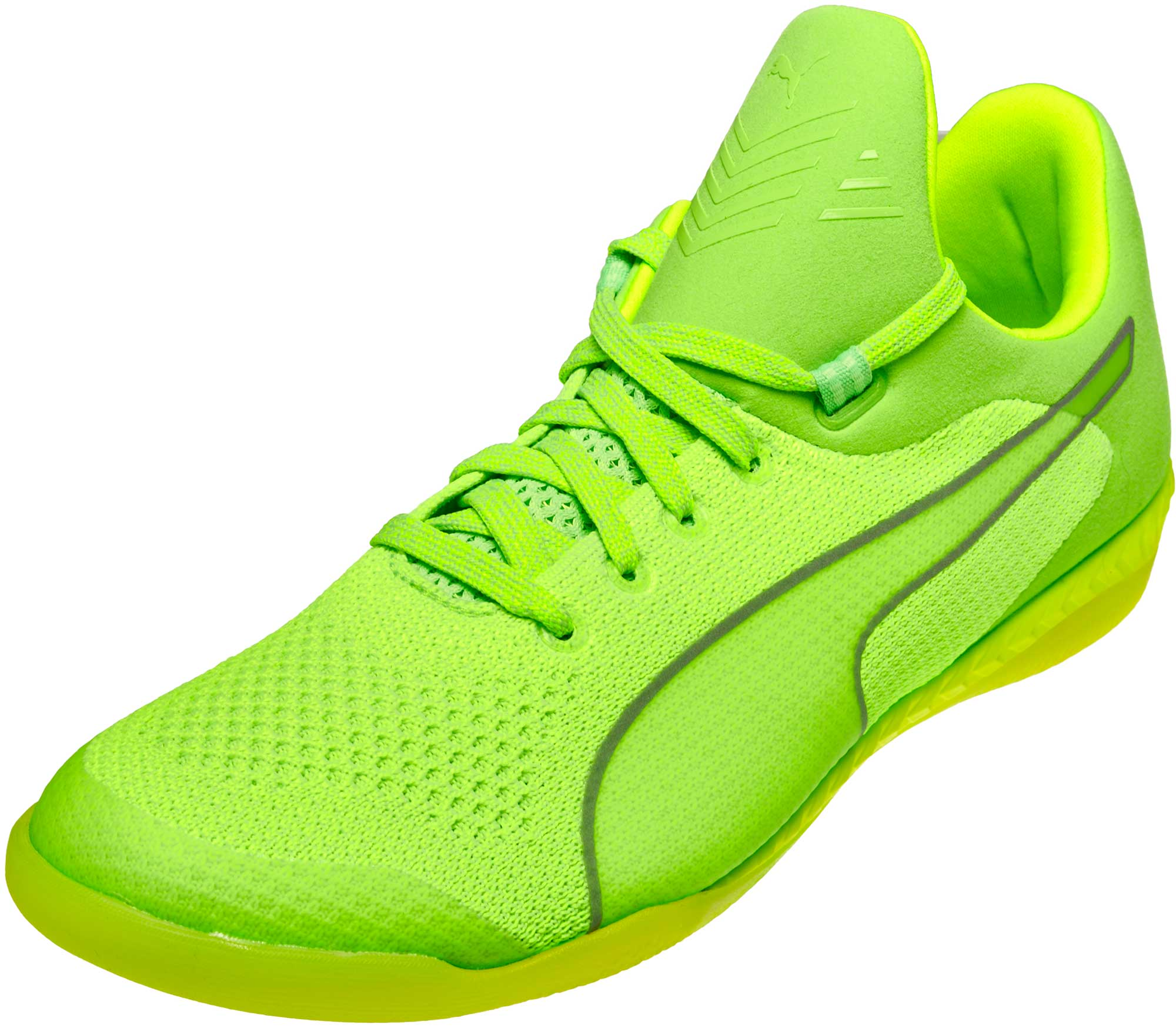 444019fe PUMA 365 evoKNIT Ignite CT – Green Gecko/White