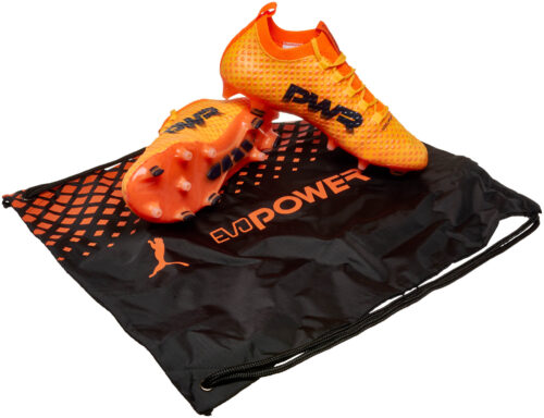 PUMA evoPOWER Vigor 3D 1 FG – Ultra Yellow/Peacoat