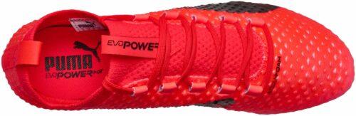 PUMA evoPOWER Vigor 3D 1 FG – Fiery Coral/Toreador