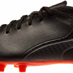 Puma One 17.4 FG - Black Puma Soccer Shoes b60aad61f